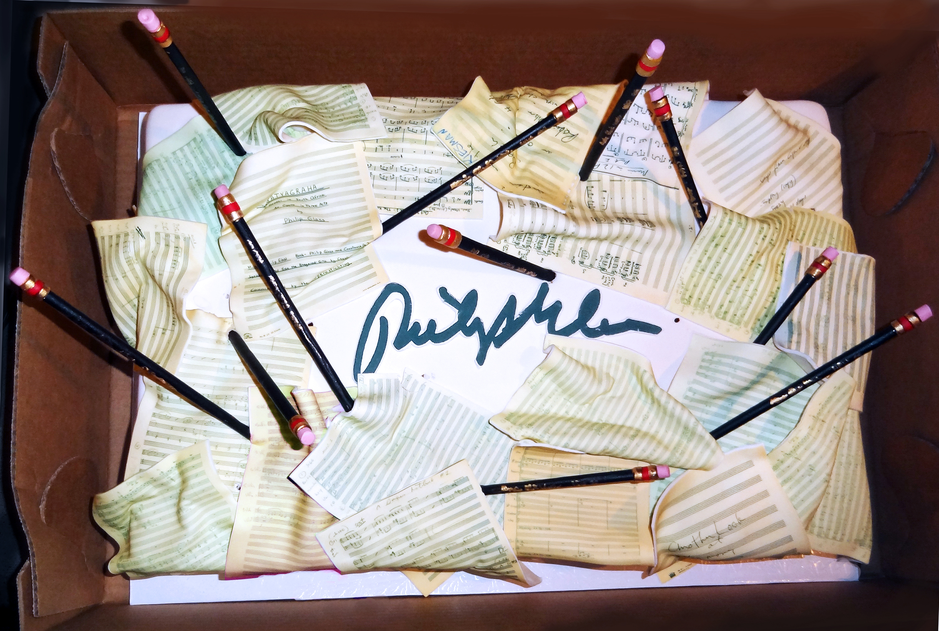Excellent Glass Notes Philip Glass 75Th Birthday Cake By The Cake Boss Funny Birthday Cards Online Aboleapandamsfinfo