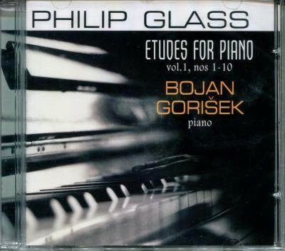 Bojan Gorisek Philip Glass Piano Etudes